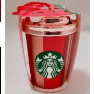 Starbucks limited edition Christmas ornament